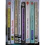 A. christie - lot 8 livres : dix petits negres - un cadavre dans la bibliotheque - témoin a charge - le crime du golf - la mort dans les nuages - mrs mac ginty est morte - le meurtre de roger ackroyd - A.B.C. contre poirot