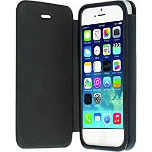 Krusell Malmo Flip Cover Case for iPhone 5/5S (Black)
