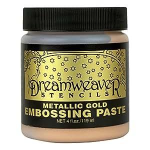 Stampendous gaufrage Dreamweaver Pâte 4oz-gold