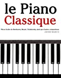 Telecharger Livres le Piano Classique Pieces faciles de Beethoven Mozart Tchaikovsky ainsi que d autres compositeurs (PDF,EPUB,MOBI) gratuits en Francaise