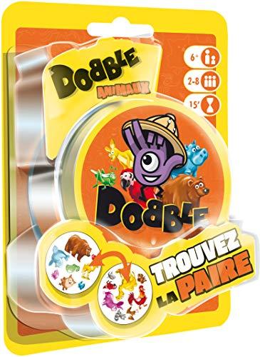 Asmodee Dobble Tiere Blister, DOAN02FR, Gesellschaftsspiel