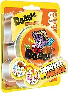 Asmodee Dobble Animales Blister, doan02fr, Juego de salón
