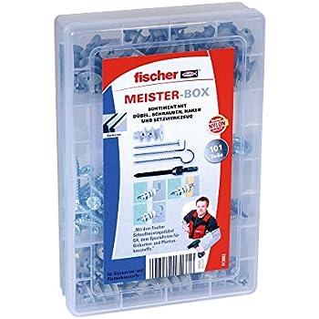 Fischer Gkm fissaggi cartongesso con tassello /Ø 4/ /50 /5/x 31/mm viti per fissaggio incluso/
