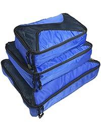ARKTEK® Conjuntos de 6organizadores de maleta, equipaje organizadores de viaje bolsas de compresión