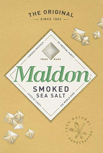 Organic Maldon Smoked Sea Salt 125 g (Pack of 4)
