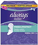 Always Fresh&Protect Slipeinlagen, Normal Vorteilspack, 5er Pack (5 x 56 Stück) -