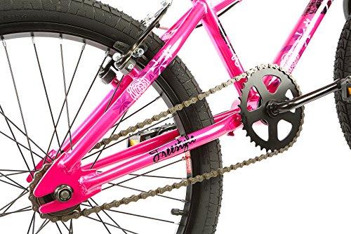 Tribe Fantasy 20 BMX Bike 20″ Wheel, 10″ Frame, Pink/Purple