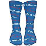 Funny&shirt Men Women Make America Great Again Pattern Novelty Sport Stocking Socks Athletic High Sock Gift Outdoor 19.68 Inches