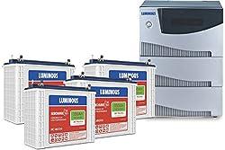 Luminous Cruze 3.5KVA Inverter With RC 18000 Battery (4 Batteries)