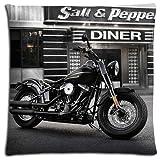 40,6x 40,6cm 40x 40cm Home Kissen Bezug Fällen Baumwolle + Polyester Eleganz Bakterien-resistent Harley Davidson