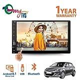 myTVS TAV-40 Double Din Car Audio Video Touch Screen Stereo Full HD