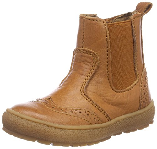 Bisgaard Unisex-Kinder 50702218 Chelsea Boots, Braun (508 Cognac), 35 EU