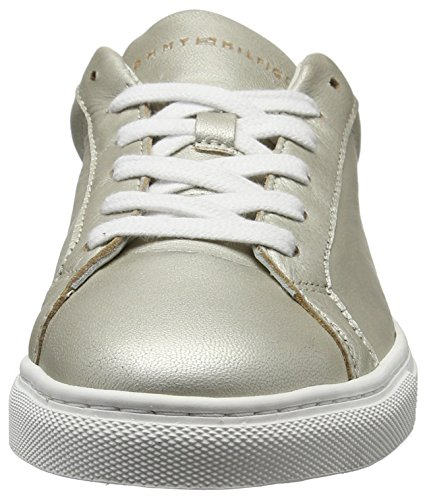 Tommy Hilfiger T1285ina 10a2, Sneakers Basses Femme Argent (Light Silver 041)