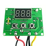 220V : KKmoon XH-W3002 All-Purpose Digital Delay Temperature Controller Pre-Wired Thermostat with Waterproof Sensor Heating and Cooling Mode 220V/24V/12V