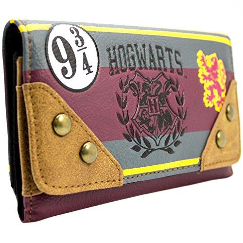 s Schule Emblem Braun Portemonnaie Geldbörse (Film Kostüm Design Schule)