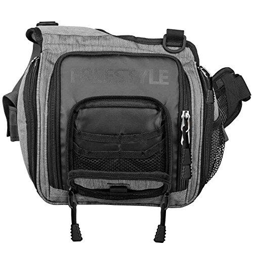 Spro Freestyle Shoulder Bag 25x11x27cm - Kunstködertasche für Wobbler, Gummifische & Blinker, Angeltasche für Kunstköder