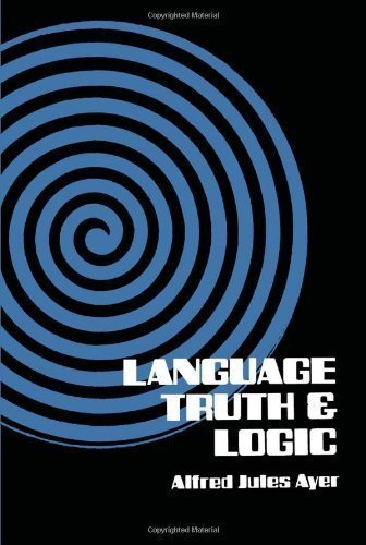 By Alfred J. Ayer, Sir Alfred Jules Ayer Language, Truth and Logic (Dover Books on Western Philosophy) (1952) Paperback