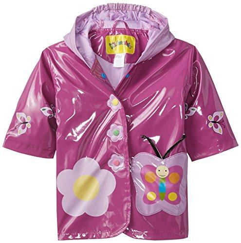 Kidorable Originale di Marca Cappotto Di Pioggia Farfalla Adorabile per bambini, ragazze, ragazzi ... (70-76)
