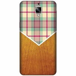 Design Worlds Designer Back Cover For OnePlus 3T - Wood Design Designer Cases