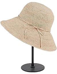 CFHJN Home Sombrero de Mujer Protección Solar Sombrero de Sol Grande a lo  Largo del Sombrero a23831a6f9dc