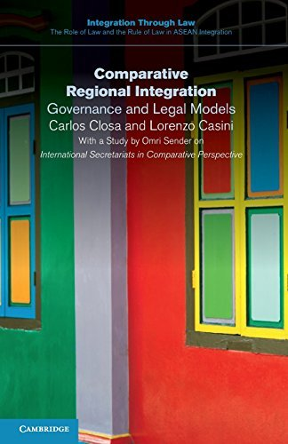 Comparative Regional Integration: Governance and Legal Models (Integration through Law:The Role of Law and the Rule of Law in ASEAN Integration) by Carlos Closa (2016-09-08)
