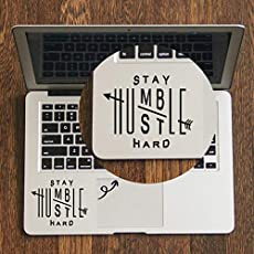 GADGETS WRAP Stay Humble Hustle - Trackpad Decal for MacBook Air Pro Retina 11 12 13 14 15 inch Mac Book Touchpad Skin Laptop Sticker
