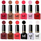 Best Nail Polish Neon Colors - MI Fashion® 12 X Luxury Nail Polish 12 Review