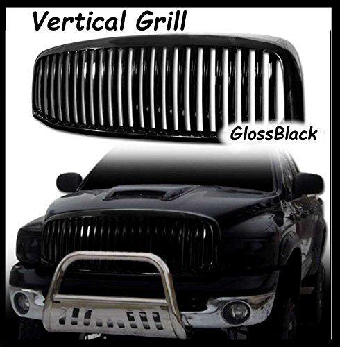 Power Parts Automotive GmbH Kühlergrill Black Edition Serie Vertical GlossBlack