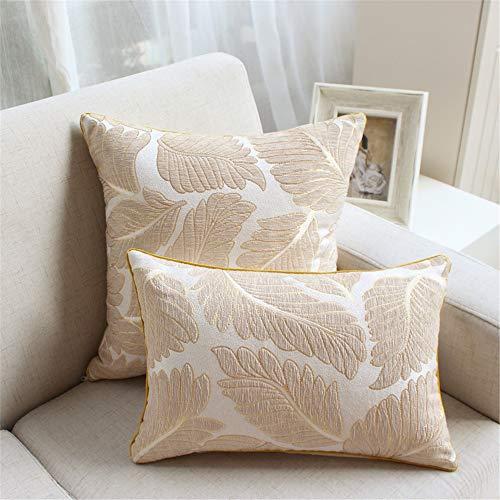 Inicio Conjunto de Cojines para el hogar Almohada Creativa decoración del hogar,Sofá Abrazo Funda de Almohada Chenilla Jacquard color1 30...