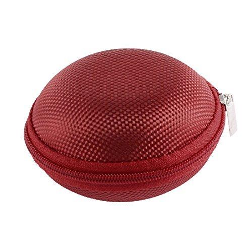 Preisvergleich Produktbild Oortelefoon Headset Mini Hard Carry Bag Storage Bag Case houder rood
