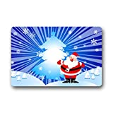 Personal Custom santa claus Fu?matten Doormat Outdoor Indoor 18