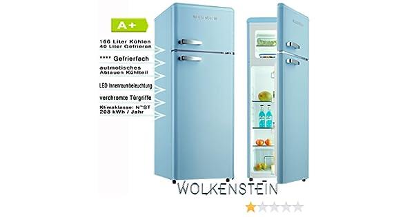 Amica Kühlschrank Glühbirne Wechseln : Wolkenstein gk212.4rt lb kühl gefrierkombination blau: amazon.de