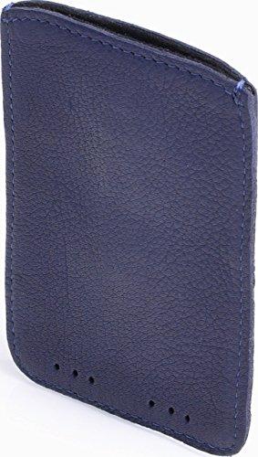 CNTMP, Contempo, Custodia per Cellulare da Donna, Sleeve, Per Smartphone, Iphone, Samsung Galaxy S3 Mini, Case, In Pelle, 8 x 13 cm blu