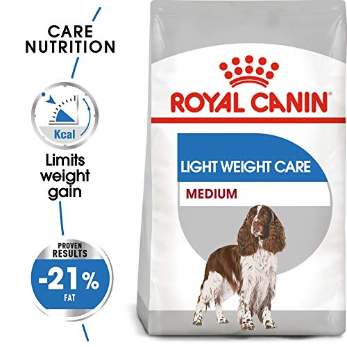ROYAL CANIN Hundefutter für Hunde, Größe M, leicht, für Erwachsene, 9 kg -