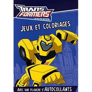 Transformers Animated : Jeux et coloriages