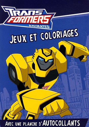 Transformers Animated : Jeux et coloriages