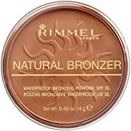 Rimmel London Natural Bronzer Powder, 025 Sun Glow, 14 gm