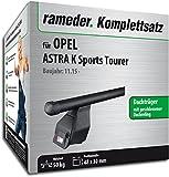 Rameder Komplettsatz, Dachträger Tema für Opel Astra K Sports Tourer (123590-14870-1)