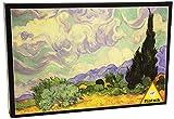 Piatnik 5391 - Van Gogh, Weizenfeld mit Zypressen - Puzzle