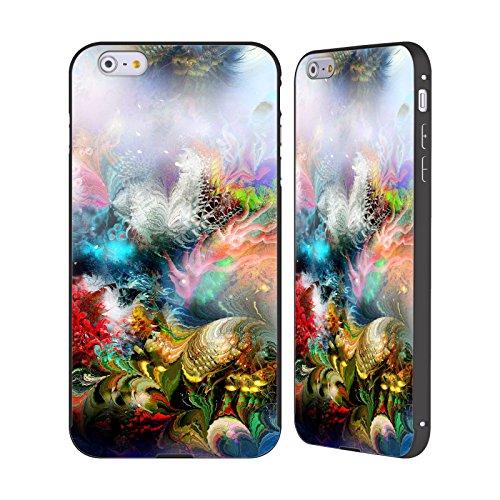 Ufficiale Runa Barriera Corallina 2 Vivido Nero Cover Contorno con Bumper in Alluminio per Apple iPhone 5 / 5s / SE Barriera Corallina 1