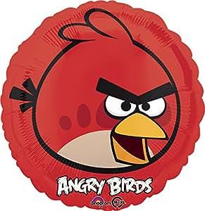 neu folienballon angry birds red bird 45 cm spielzeug. Black Bedroom Furniture Sets. Home Design Ideas