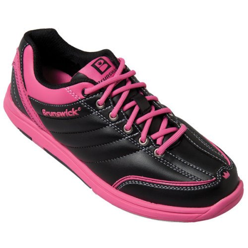 Damen Bowlingschuhe Brunswick Diamond black/hot pink