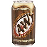 A&W Root Beer 12 FL OZ (355 ml) Cans (Pack of 24)