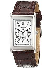 Löwenstein LO-T23167-194W - Reloj de pulsera hombre, Cuero, color Marrón