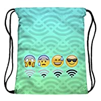 Fringoo Boys Girls Teenager Drawstring Bag School Backpack Shoulder PE Bag Gym Bag Travel Pouch