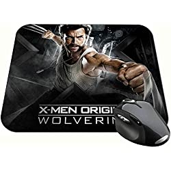 X-Men Origins Wolverine Hugh Jackman Lobezno B Alfombrilla Mousepad PC