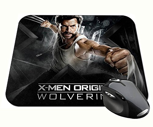 X-Men Origins Wolverine Hugh Jackman Lobezno B Alfombrilla Mousepad PC