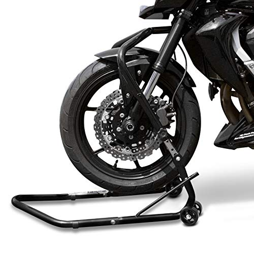 ConStands - Motorrad Lenkkopf-Montageständer Yamaha MT-01 05-12 Schwarz Vorne Vario Frontheber