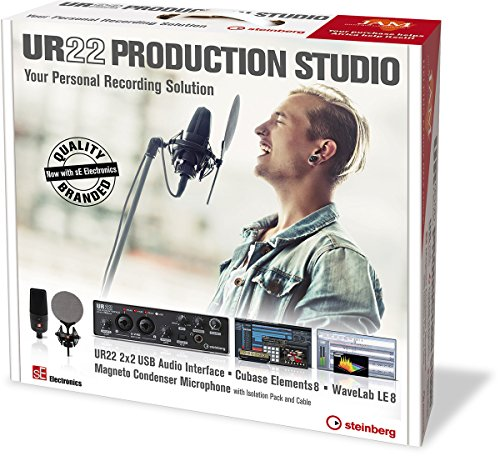 Steinberg UR22 Production Studio (Cubase Element 8+UR22)