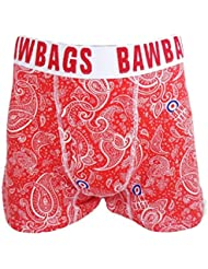 BAWBAGS BOXER : ROUGE CACHEMIRE